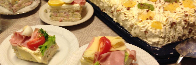 Smörgås och tårta